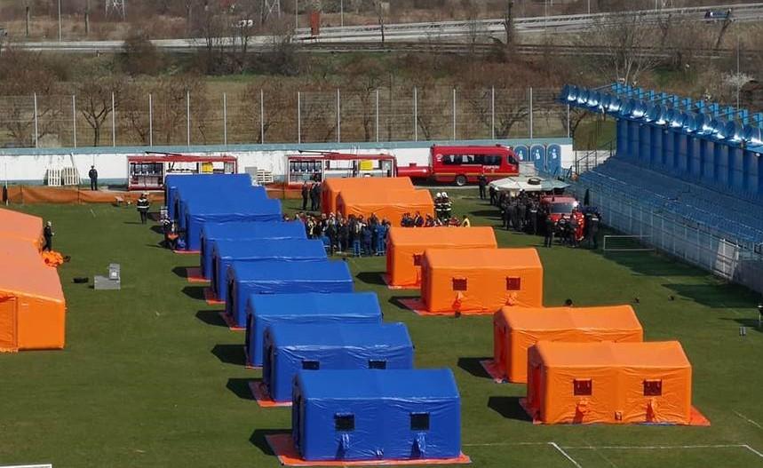 ISU s-a dotat cu o tabără mobilă pentru persoane sinistrate, �