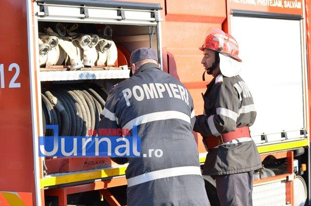 Panică într-un bloc din Bahne din cauza unui incendiu la tabloul electric