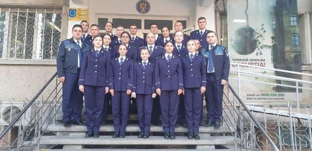 Polițiști noi la IPJ Vrancea