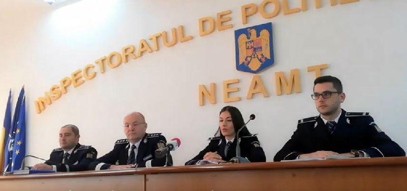 Video: Conferință de presă a Serviciului Rutier Neamț- 23.09.2019