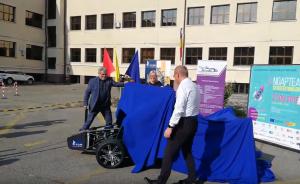 VIDEO Noaptea cercetătorilor: Cum arată și cum se aude prima mașinătip Formula 1 construită la Sibiu