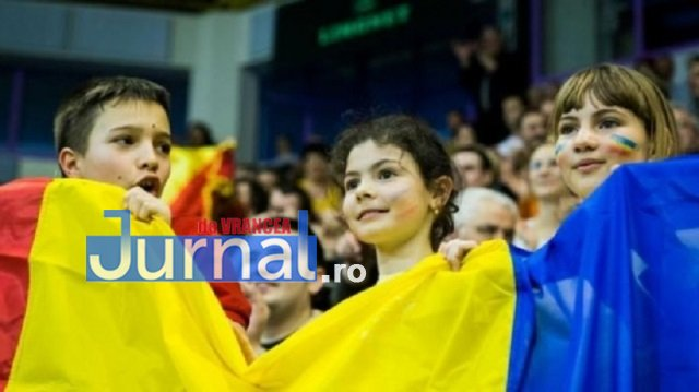 800 de elevi din Focșani, suporteri la meciul Naționalei Român
