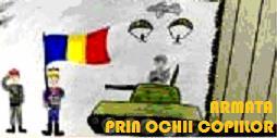 """""""Armata prin ochii copiilor""""- concurs de desen dedicat elevilor"""