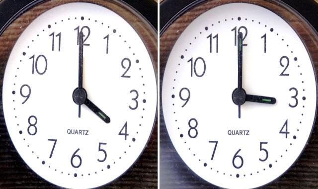 Când se trece la ora de iarnă. Ora 04:00 va deveni ora 03:00