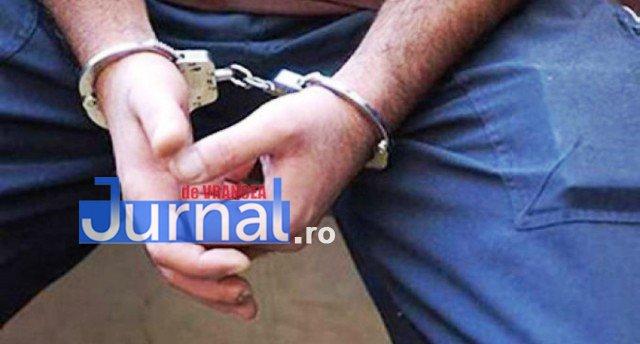 Condamnat pentru trafic de droguri, prins de polițiștii vrânceni