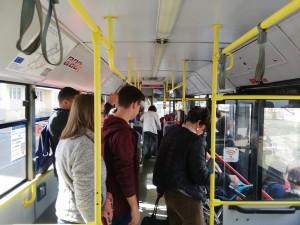 Cu cât a crescut numărul sibienilor care merg cu autobuzul dup�