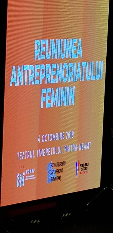 Lansarea filialei Neamț a Patronatului pentru Antreprenoriat Feminin