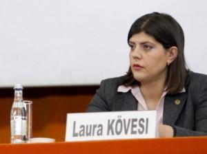 """Laurei Codruța Kovesi, la noul loc de muncă. """"Are ca sarcină construirea EPPO de la zero"""""""