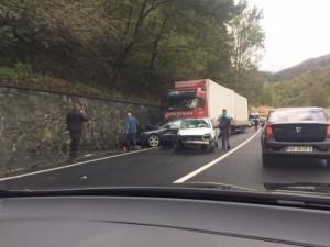 Maraton de accidente pe drumurile județului Sibiu, weekend-ul tr