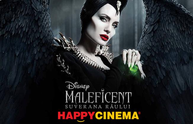 Promo?ie pentru filmul Maleficent: Suverana R?ului 3D la Happy Ci