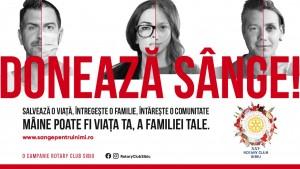 Rotary Club: Campanie de donare de sânge pentru comunitate, la Sibiu