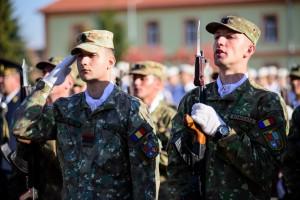"""Studenții Academiei Forțelor Terestre """"Nicolae Bălcescu"""" Sibiu au depus jurământul militar"""