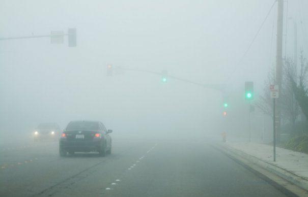 Toată Moldova e în ceață până la prânz