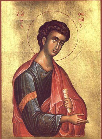 TRADIȚII Sfântul Apostol Toma, ocrotitorul întârziaților