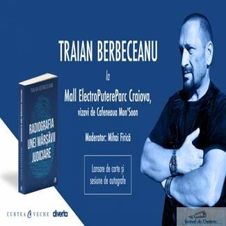 Traian Berbeceanu isi lanseaza cartea in Craiova