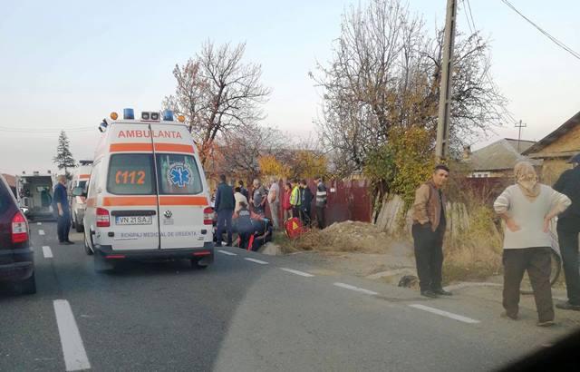 ACUM: Două persoane rănite într-un accident la Bolotești (foto)