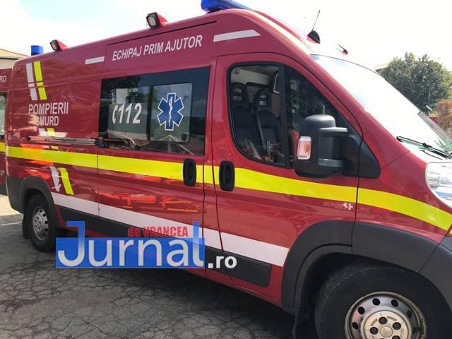 ACUM: Mamă și fiică accidentate pe o trecere de pietoni, în Focșani