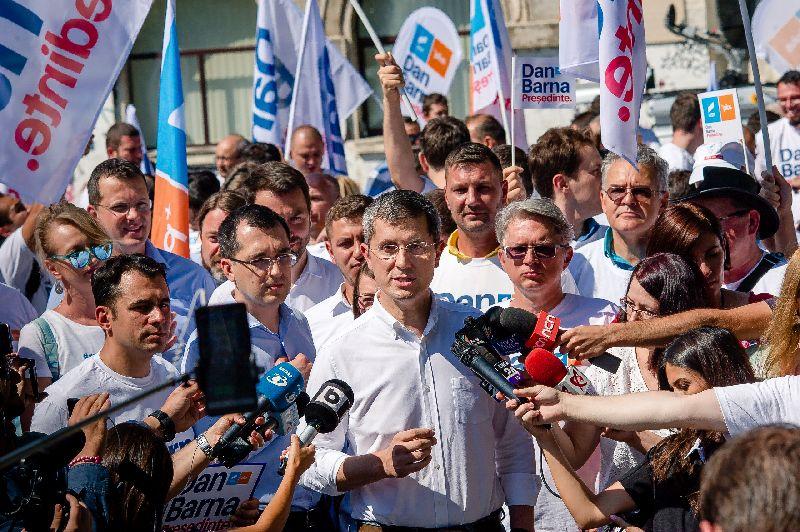 Alegeri prezidențiale: Dan Barna vrea o reforma constituțională cu cinci obiective concrete
