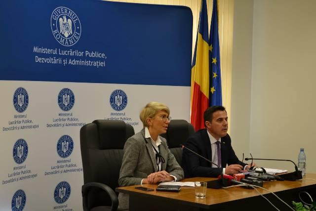 FOTO: Ion Ștefan a preluat oficial Ministerul Lucrărilor Publice, Dezvoltării și Administrației. Ce planuri are în mandatul său