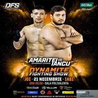 KickBox : Dynamite Fighting Show ajunge la Iasi , orasul lui Catalin Morosanu . Oltenia este reprezentata de Ionut Iancu !