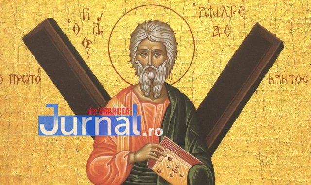 Sâmbătă, ziua Sfântului Andrei, creştinătorul neamului românesc