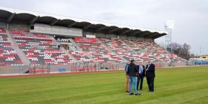 Stadionul Municipal e gata. AFC Hermannstadt – CFR Cluj va fi primul meci acasă