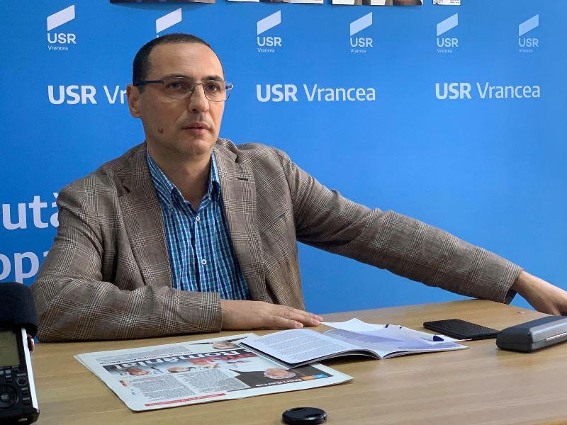 """USR Vrancea nu vede cu ochi buni numirea lui Ion Ștefan la Dezvoltare:  """"Un domn care nu a ieșit primar va fi șeful primarilor din țară"""""""