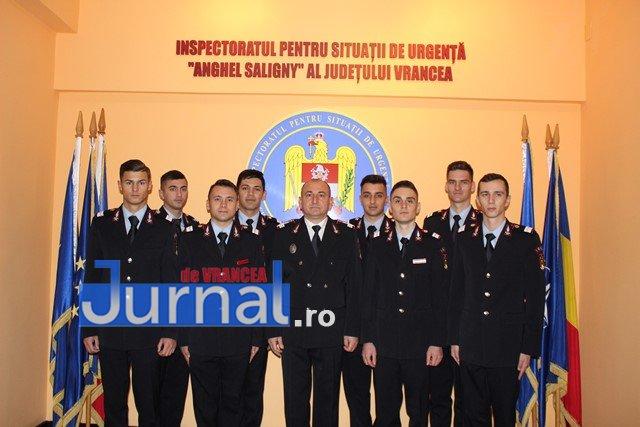 FOTO: Meritele pompierilor vrânceni apreciate  de Ziua Naţională a României