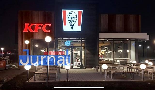 KFC a deschis primul restaurant la Focșani
