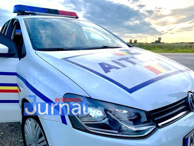 Vrâncean prins în Bacău în timp ce conducea fără permis
