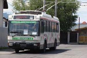 Distrugerea definitivă a transportului cu troleibuze în Piatra Neamț