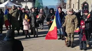 Hora Unirii la Piatra Neamț- 24 ianuarie 2020
