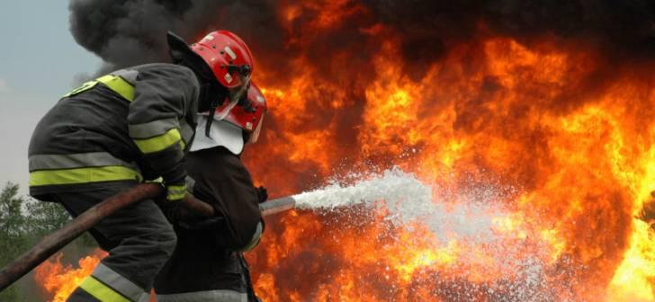Incendiul de la o fabrică din Sebeș a fost lichidat