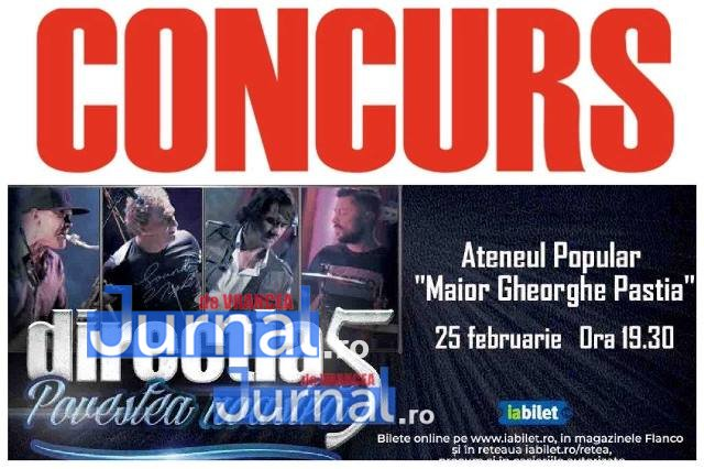 CONCURS Jurnal de Vrancea   Câștigă bilete la concertul Direcția 5