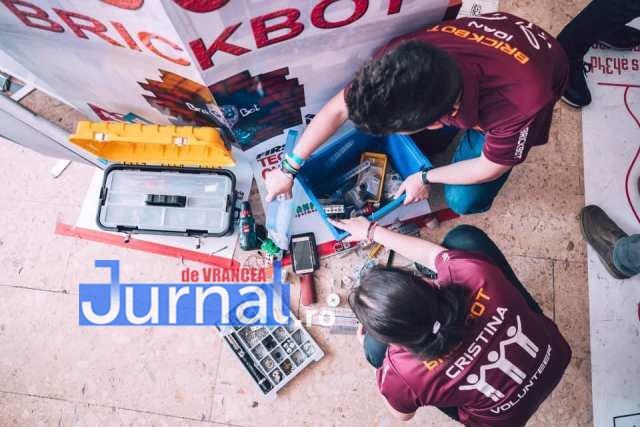 FOTO: Concurs de Robotică la CN Unirea