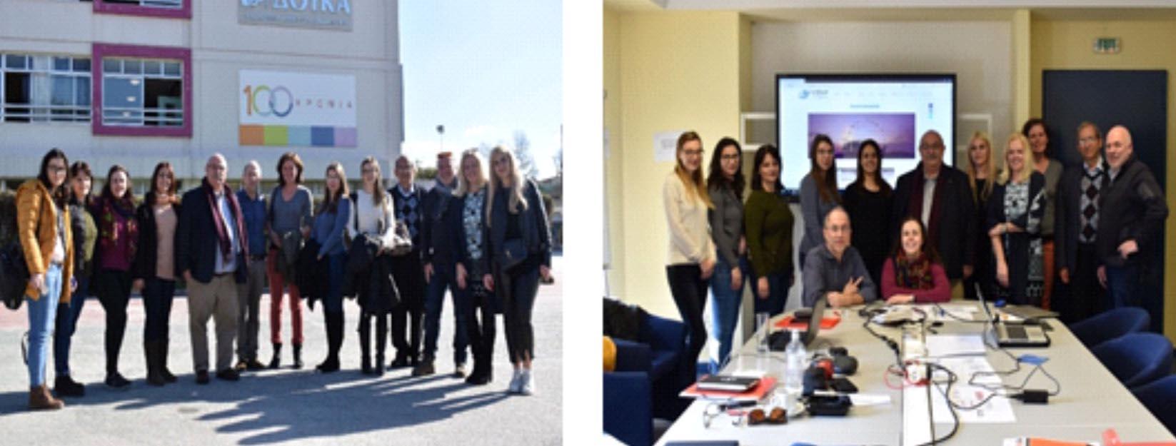 """Întâlnire transna?ional? ?i curs de formare în cadrul proiectului Erasmus+ """"L-Cloud: Developing Tomorrow's Cloud Education Leaders"""""""