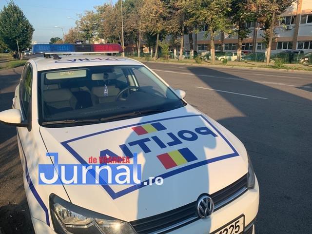 Șofer băut, prins de polițiști după o șicanare în trafic