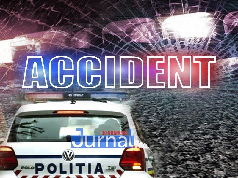 UPDATE-ACUM: Autoutilitară răsturnată la Adjud | O persoană a fost rănită