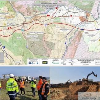 A inceput constructia autostrazii Sibiu – Pitesti !