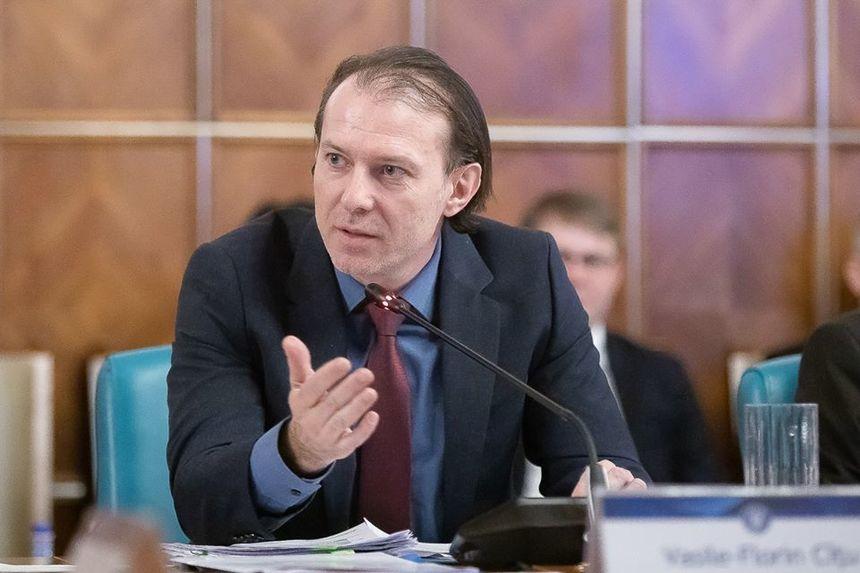 Cîțu: Cererile pentru amânarea ratelor la bănci vor putea fi depuse în 45 de zile de la intrarea în vigoare a Ordonanței