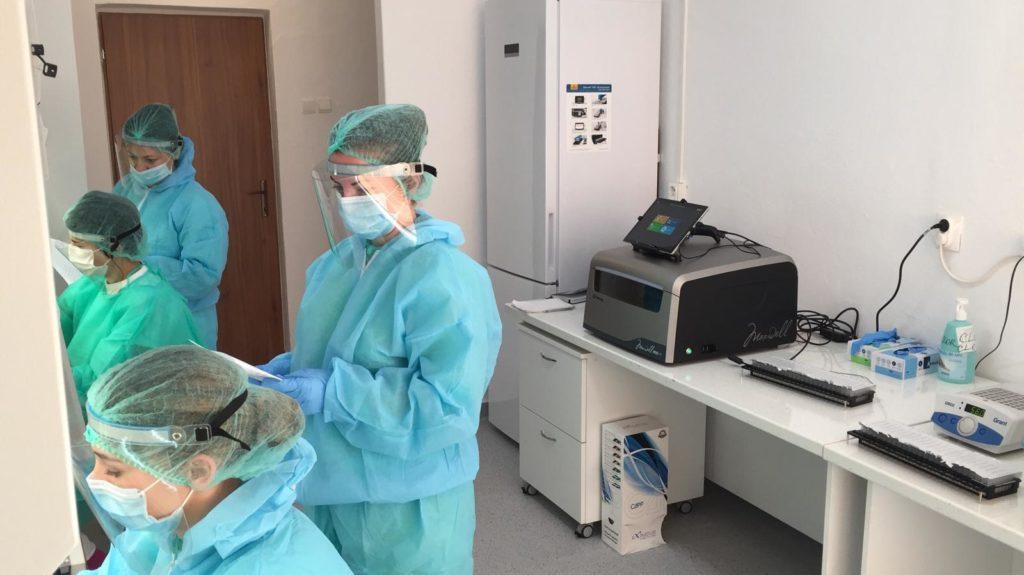 10% din testele efectuate zilnic în România se fac în județul Alba