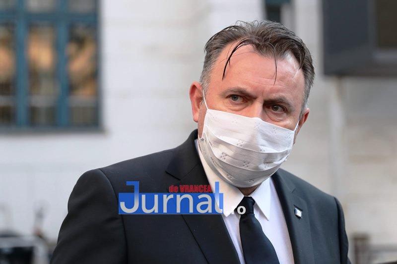 ACUM: Ministrul Sănătății, Nelu Tătaru așteptat la Spitalul Județean din Focșani