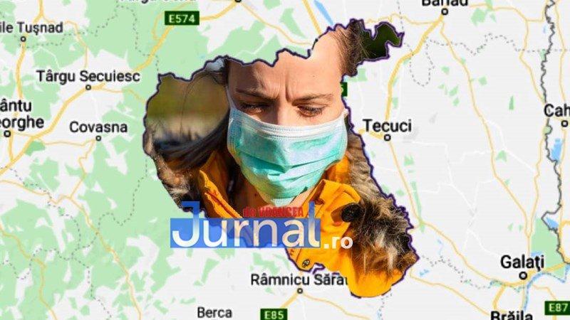 Situația pandemiei în Vrancea, 25 aprilie: 15 persoane decedate, 47 vindecate, 205 îmbolnăviri și 449 cetățeni aflați în carantină!