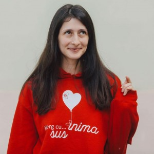 Carmen Chindriș, președinta Asociației Sus Inima, finalistă l
