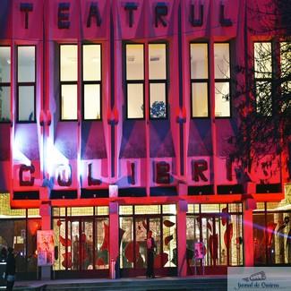 Călătorul intergalactic poposește în premieră, sâmbătă, pe esplanada Teatrului Colibri