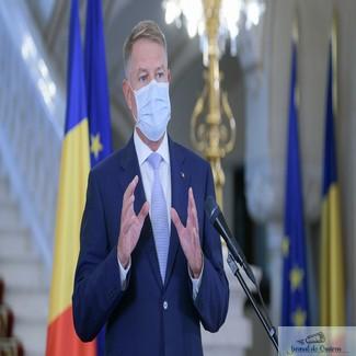 Klaus Iohannis: Ministerul Sănătăţii va stabili norme pentru votare!