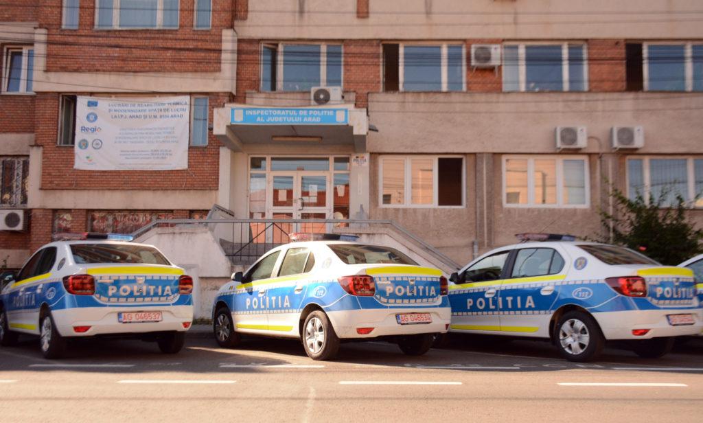 Poliția Arad face precizări: Urmăritul cu focuri de armă este cetățean austriac