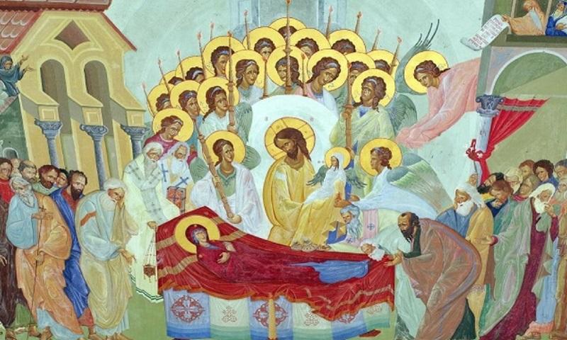 Sântămăria Mare sau Adormirea Maicii Domnului