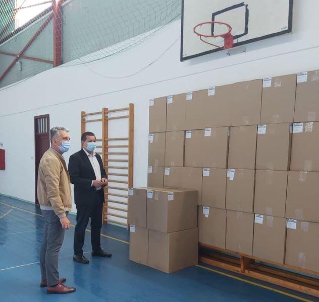 92.700 de măști distribuite în Vrancea de Guvern, prin Ministerul Sănătății, pentru secțiile de votare din județ