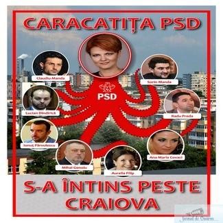 Caracatita PSD s-a intins peste CRAIOVA!